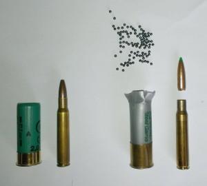 Unterschied zwischen Flinten- und Büchsenmunition